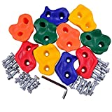 Eggdel Indoor Outdoor Board Plastic Small Pigs Rock Pegs Stones for Kids Exercise Climbing Hold