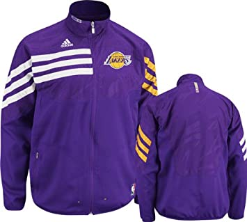 186c7a5e2e1 Adidas Los Angeles Lakers On-Court Warmup Jacket Medium, Jackets - Amazon  Canada