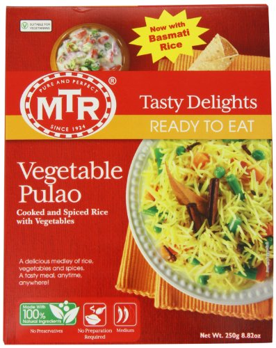 MTR Vegetable Pulao, 8.82 Ounce Boxes (Pack of 10) by MTR