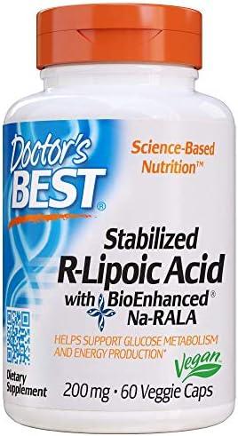 Doctors Best Stabilized R Lipoic 200mg