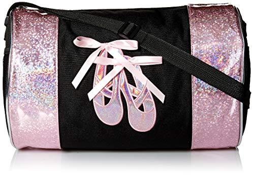 Dance Ballet Slippers Duffel Bag (Black/Pink)