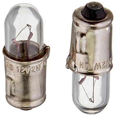HELLA 3898TB Twin Blister Standard Miniature 3898 Bulbs, 12V, 2W, 2 Pack: Automotive