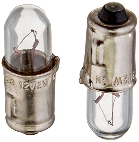 HELLA 3898TB Twin Blister Standard Miniature 3898 Bulbs, 12V, 2W, 2 Pack