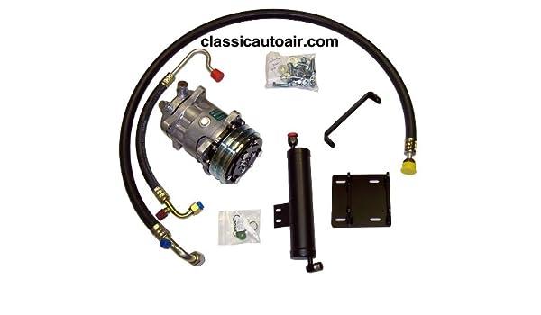 Amazon com: 1967 1968 Mustang Cougar V8 Rotary Compressor