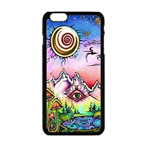 """Danny Store Hardshell Cell Phone Cover Case for New iPhone 6 Plus (5.5""""), Trippy by icecream design"""