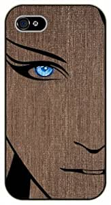 Surelock iPhone 5 / 5s Blue eyed - black plastic case, hot girl, girls