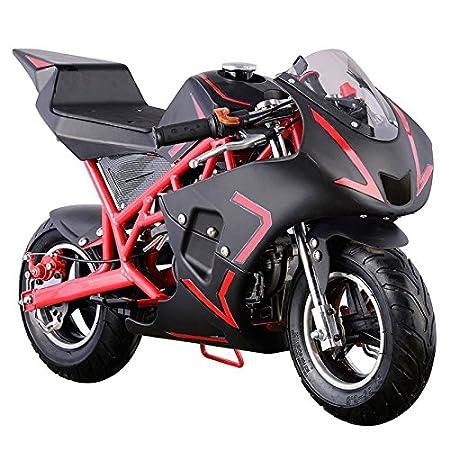 Pocket Bike Mini Motorcycle 4 Stroke Gas Power (WHITE)