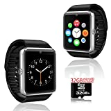 inDigi Women Bluetooth Bracelet SmartWatch w/ OLED Display Caller ID Time Music Anti-Lost (US Seller)