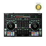 Roland DJ-808 4-Channel DJ Controller for Serato DJ with 1 Year Free Extended Warranty from Roland