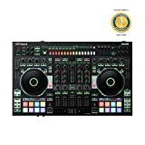 Roland DJ-808 4-Channel DJ Controller for Serato DJ with 1 Year Free Extended Warranty
