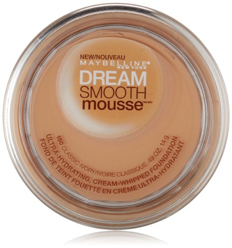 Maybelline New York Мечта Smooth Мусс Фонд, Classic Ivory, 0,49 Унция