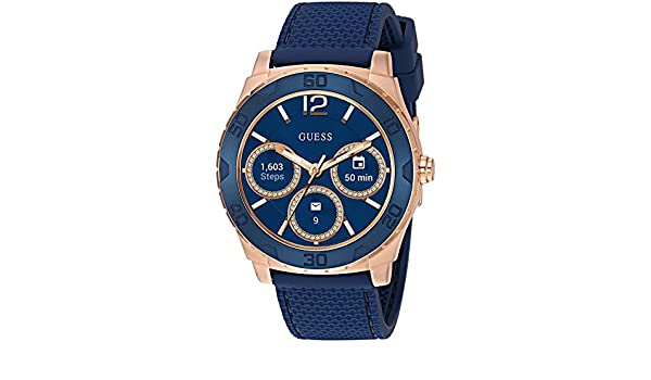 Guess Ace Mens Touch AMOLED Azul, Rose Gold SmartWatch: Amazon.es: Electrónica