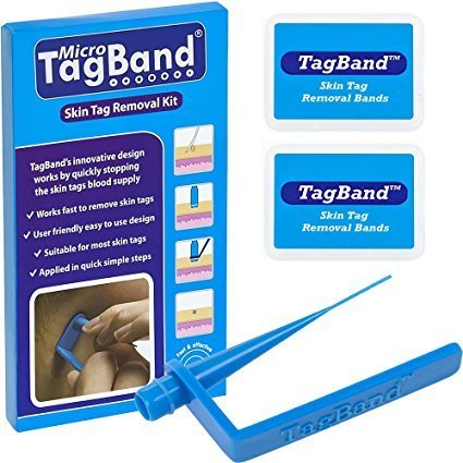 Price comparison product image Micro TagBand Skin Tag Remover Device for Small to Medium Skin Tags by TagBand