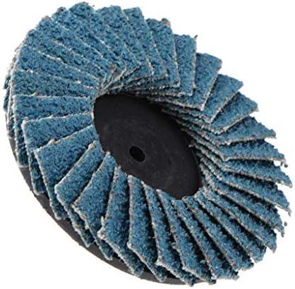 Polijstschijf polijstopzetstuk reinigingsschijf polijstspons voor excentrische schuurmachineblauw 2in