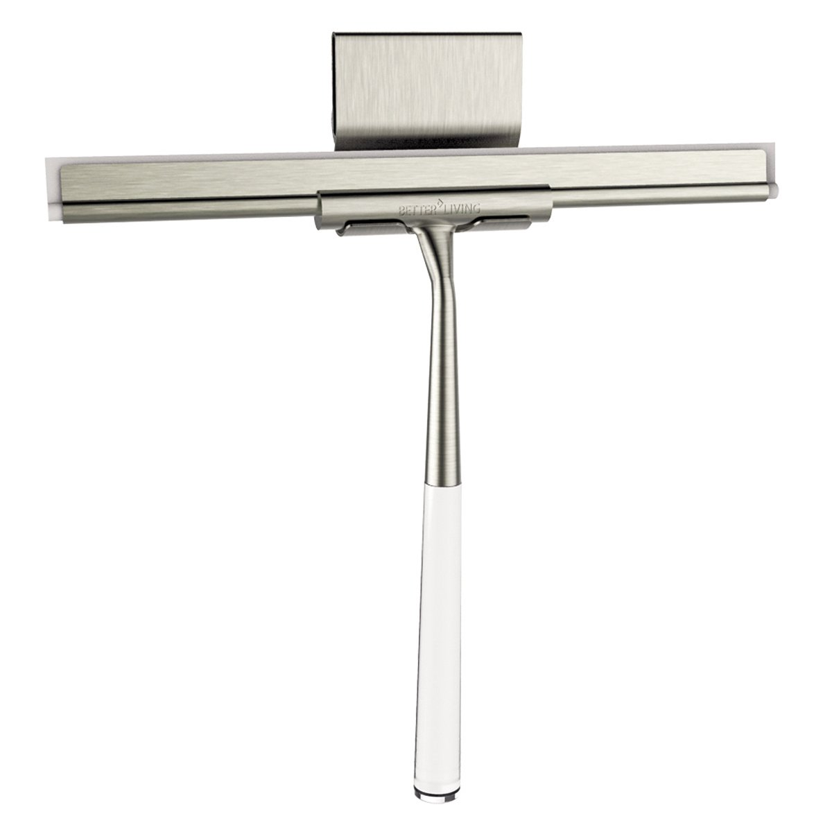 Amazon.com: Better Living Products 18099 Linea Luxury Shower Squeegee,  Brushed Nickel With Stainless Steel: Home U0026 Kitchen