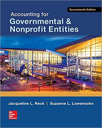 Accounting for Nonprofit Entities 17th | Available for