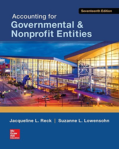 78025826 - Accounting for Governmental & Nonprofit Entities (Irwin Accounting)