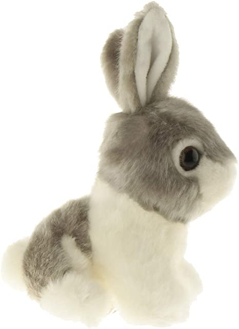 Realistic Plush Stuffed Animal Bunny Soft Toy for Baby Toddler Story Telling