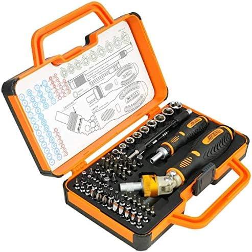 TONGSH 高圧に耐え、ハードウェアツールの組み合わせドライバーセット、ポータブルアンチドロップツールボックス、配管修理のために1ラチェットツール69 /ホームのインストール