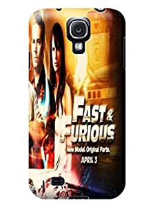 Cool Fast and Furious fashionable Designed Phone Accessories Cover Case for Samsung Galaxy s4