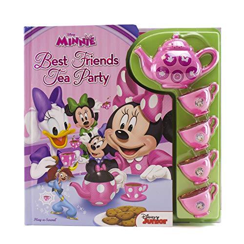 Disney Minnie Mouse - Best Friends Tea Party Sound Book with Interactive Tea Set - PI Kids -