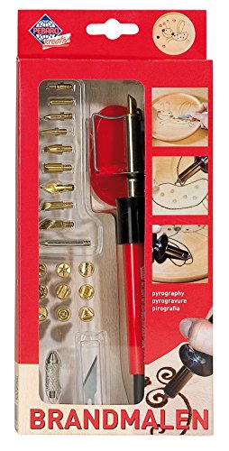 Pebaro 0261 and 2 Additional Functions – Pyrography Craft Kit ()