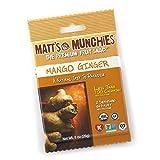 "Matt's Munchies Organic Fruit Snack (1-Ounce Bag), Mango Ginger, 12 Pack by Matt""s Munchies"