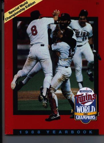 Minnesota Twins Yearbook 1988
