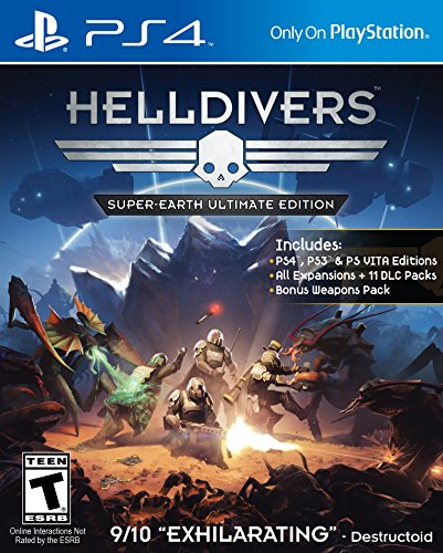Helldivers: Super-Earth Ultimate Edition (Cross-Buy) - PS4 [Digital Code] by SCEA