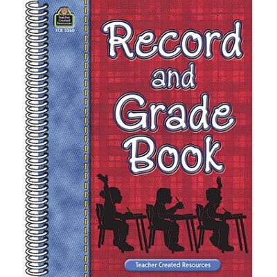 SCBTCR3360-9 - RECORD AND GRADE BOOK pack of 9
