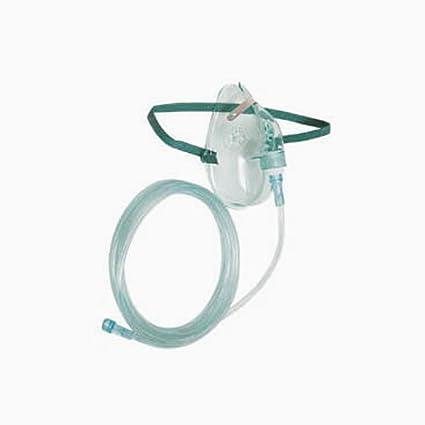 asid Bonz Máscara de Oxígeno sin reserva para niños con manguera 2,13 m Oxígeno
