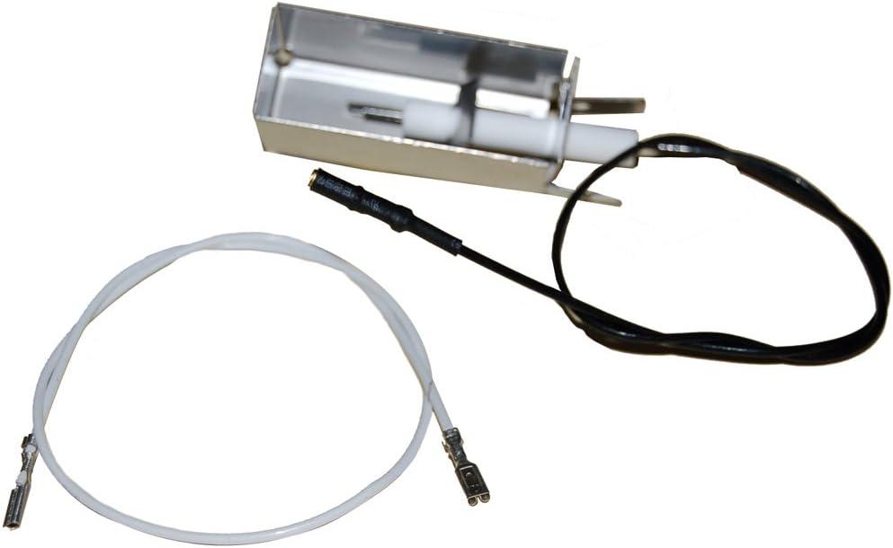 Blanc Music City Metals 4800 /Électrode en Plastique pour Les Grills /à gaz de la Marque Ducane et Weber