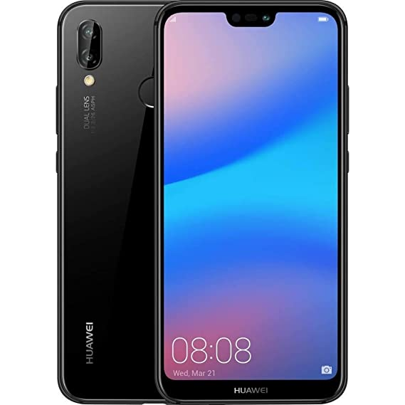 Huawei P20 Lite ANE-LX3 - 32GB - Factory Unlocked International Model  (Black)