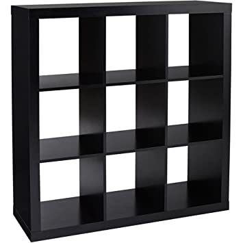 Better Homes And Gardens 9 Cube Organizer Storage Bookcase Bookshelf Cabinet  Divider Multiple Colors