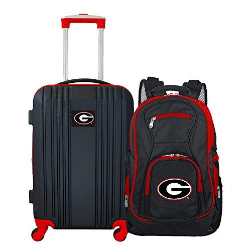 NCAA Georgia Bulldogs 2-Piece Luggage Set ()