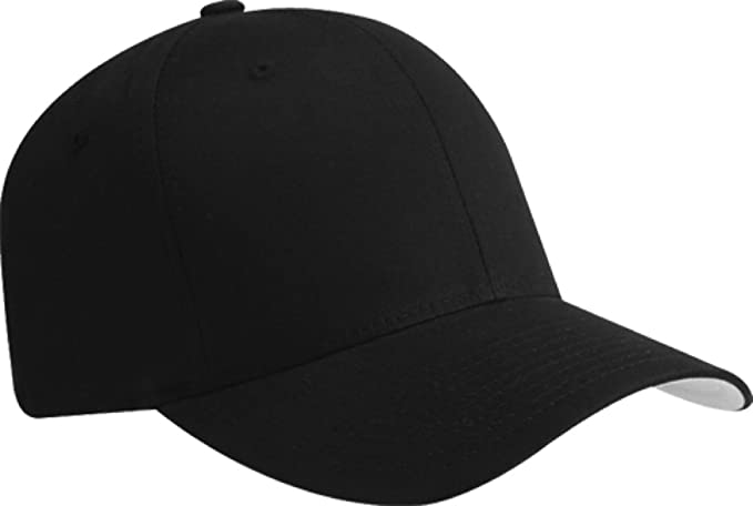 Image Unavailable. Image not available for. Color  Flexfit Blank V Twill  Fitted Hat ... df636839d0f