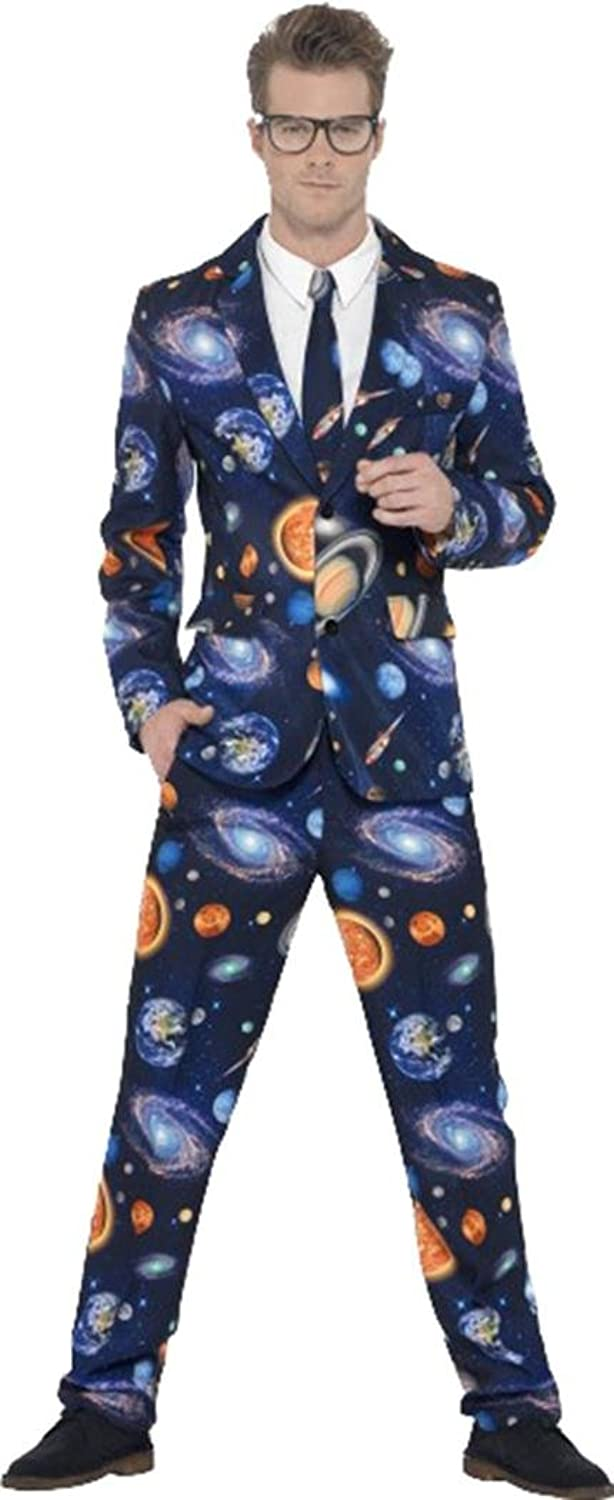 Amazon.com: Adult Mens Fancy Party Dress Comedy Stag Do Night Costume Stand Out Space Suit: Clothing