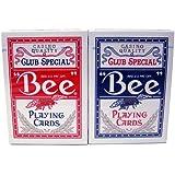 BEE(ビー) 92 ダイヤモンドバック トランプ 赤/青 ポーカーサイズ 2デックシュリンクパック