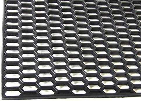 ABS Plastic Grille In Honeycomb Design Made Of Fine Wire 120 cm x 40 cm Suitable For Racing Cars