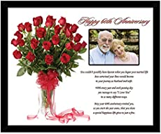 Modern Traditional 60th Wedding Anniversary Gifts For Women Men