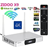 Zidoo? X9 2G/8G 4K*2K H.265 Streaming Media Player HDMI IN Recorder PVR Android TV Box HD Picture in Picture Function Mini PC
