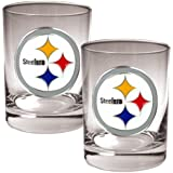 NFL Two-Piece Rocks Glass Set