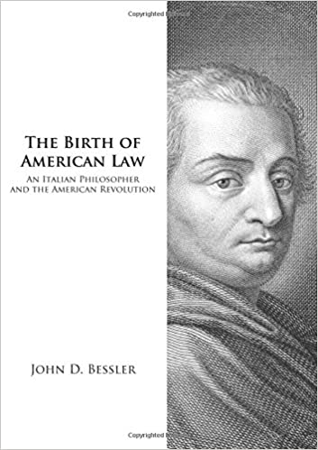 Amazon.com: The Birth of American Law: An Italian Philosopher and ...