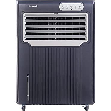 Honeywell CO70PE 148 Point Indoor/Outdoor Evaporative Air Cooler, Grey/White