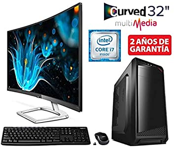 Megamania Ordenador SOBREMESA Intel Core i7 up 3,06Ghz x 4 Quad ...