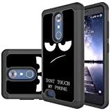 ZTE Blade X Max Case,ZTE ZMax Pro Case, Skmy Shockproof Impact Hybrid Dual Layer Defender Protective Cover rugged Armor Case for ZTE ZMax Pro/Imperial Max/Grand X Max 2/Z981 (My Phone)