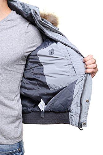 Kaporal homme - Doudoune gris Kaporal Noise - Taille vêtements - XL