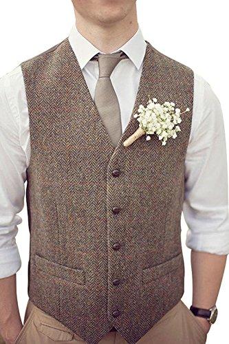 Premium Herringbone Wedding Tuxedo Waistcoat product image