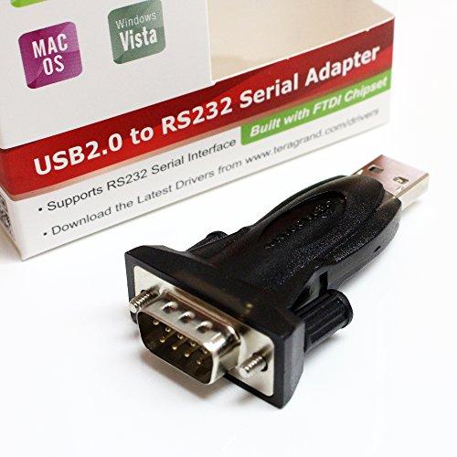 Tera Grand Premium Usb 2 0 To Rs232 Serial Db9 Adapter