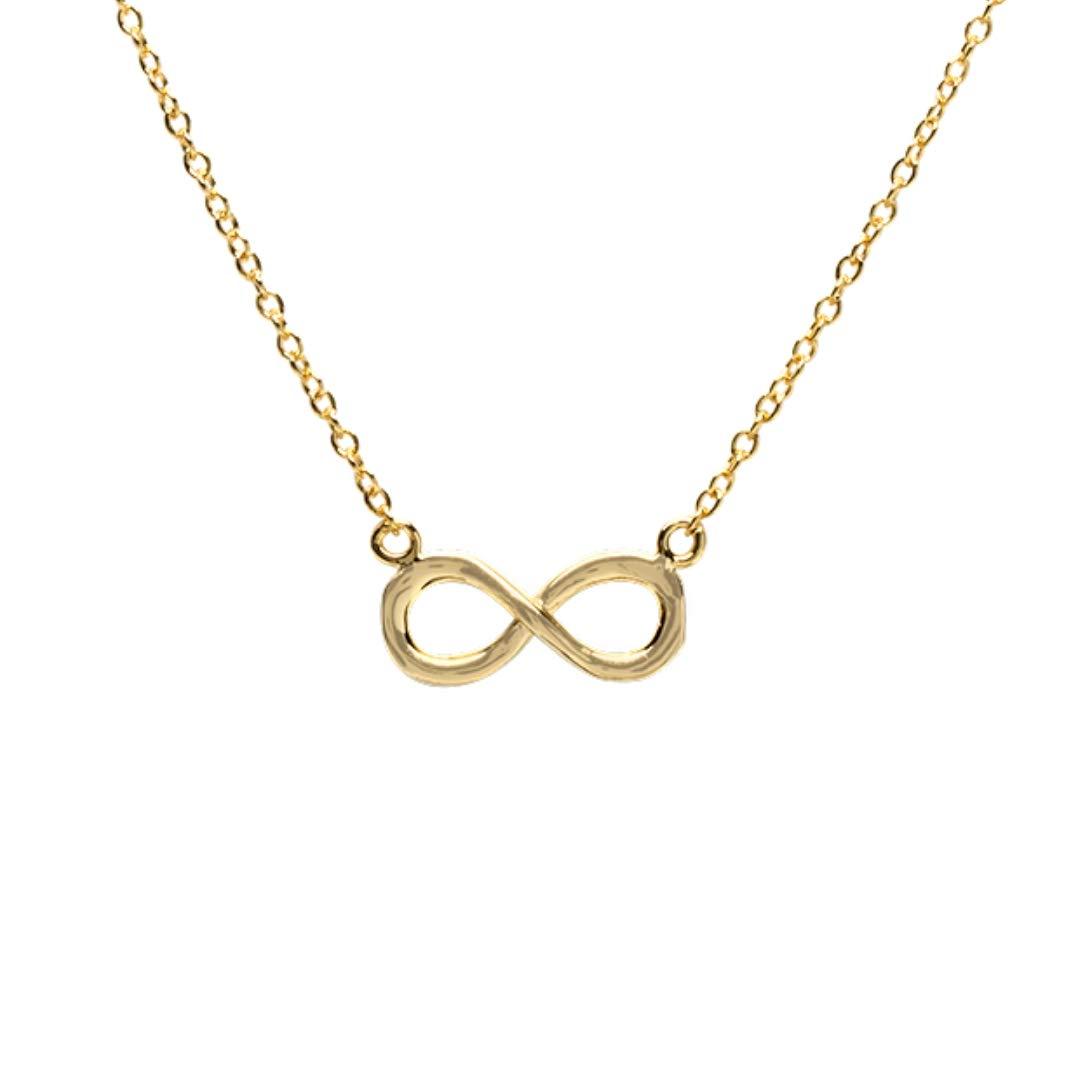 16 BELLABOHO Infinity Pendant Necklace Gold Gift Box 2 Extender